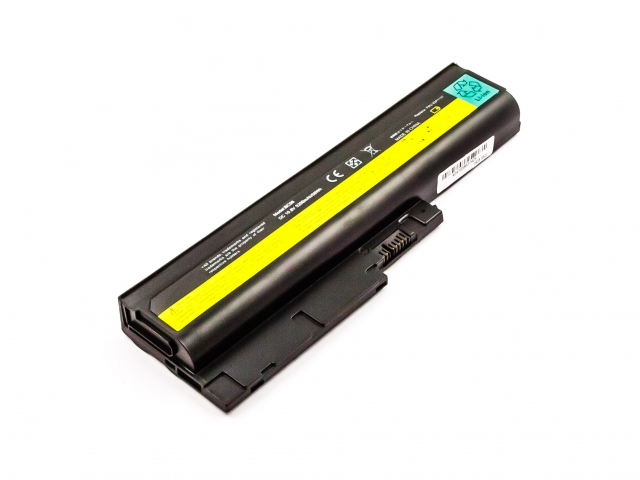 Batteria IBM/LENOVO ThinkPad R60, T60, Li-ion, 10,8V, 5200mAh, 56,2Wh, black