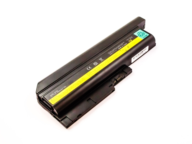 Batteria IBM/LENOVO ThinkPad T60 series, Z60m, Li-ion, 10,8V, 6600mAh, 71,3Wh
