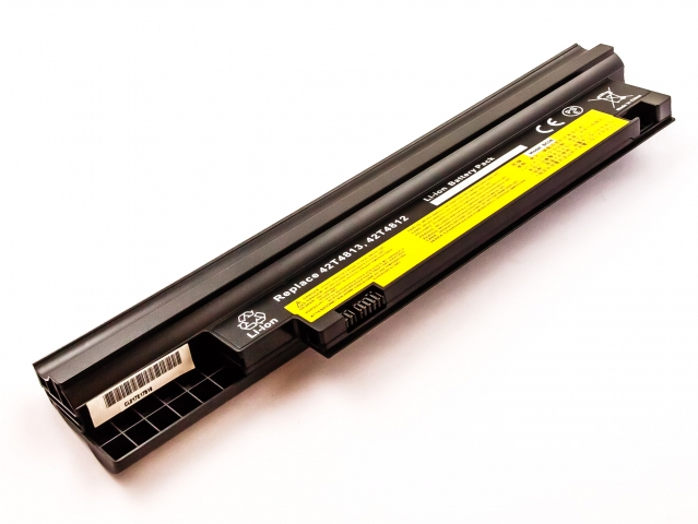 Batteria LENOVO ThinkPad Edge 13'', Li-ion, 11,1V, 4400mAh, 48,8Wh, black