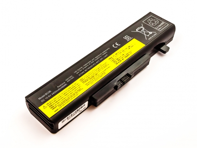 UP-E-L0E430 | Batteria LENOVO ThinkPad Edge E430, Li-ion, 10,8V, 4400mAh, 47,5Wh, black