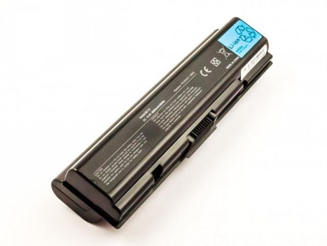 Batteria compatibile TOSHIBA Satellite A200 series, Li-ion, 10,8V, 8800mAh, 95,0Wh, black