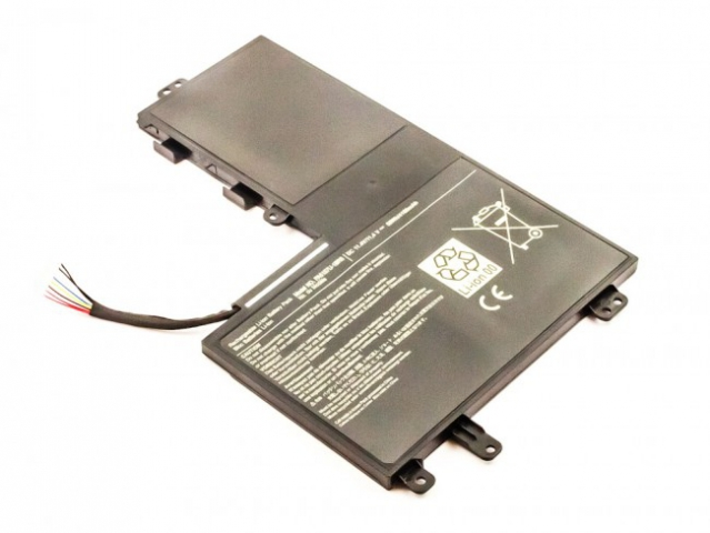 Batteria compatibile TOSHIBA Satellite  M40-A, M50-A, Li-ion, 11,4V, 4160mAh, 50,0Wh, built-in, w/o tools