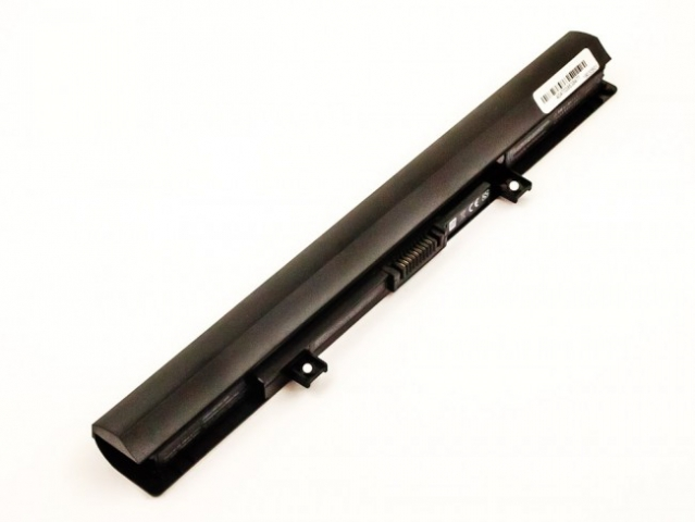 Batteria compatibile TOSHIBA Satellite C55, C55D, Li-ion, 14,8V, 2600mAh, 38,5Wh, black
