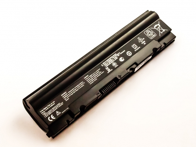Batteria compatibile ASUS Eee PC 1025, A32-1025, Li-ion, 10,8V, 4400mAh, 47,5Wh, black