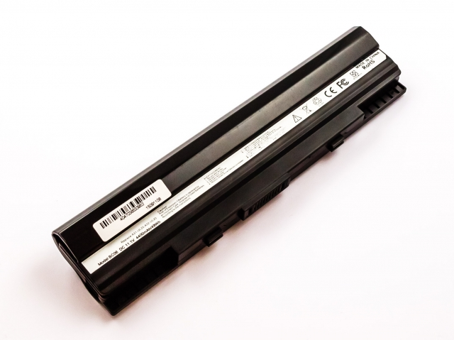 Batteria compatibile ASUS Eee PC 1201, UL20, A32-UL20, Li-ion, 11,1V, 4400mAh, 48,8Wh, black