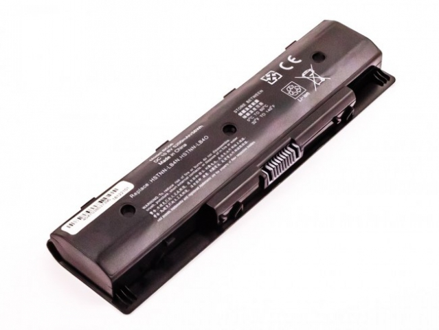 Batteria HP Envy 14, Envy 15, Li-ion, 10,8V, 5200mAh, 56,2Wh, black
