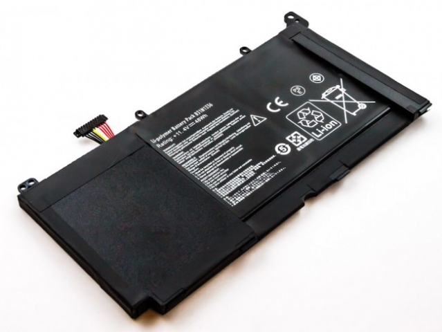 Batteria compatibile ASUS R553LF, Li-Pol, 11,4V, 4200mAh, 47,9Wh, built-in, w/o tools