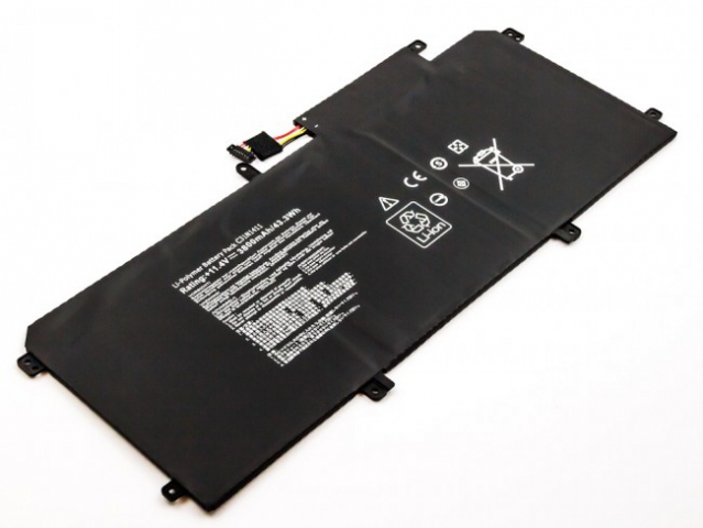 Batteria compatibile ASUS U305L, Zenbook UX305, Li-Polymer, 11,4V, 3800mAh, 43,3Wh, built-in, w/o tools
