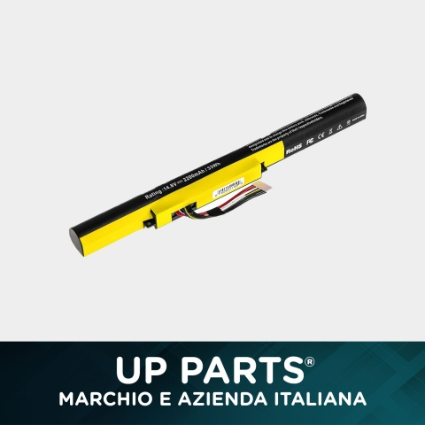 UP PARTS UP-E-LZ400 Batteria LENOVO IdeaPad P500 Z510 P400 / 14,4V 31,7Wh 2200mAh