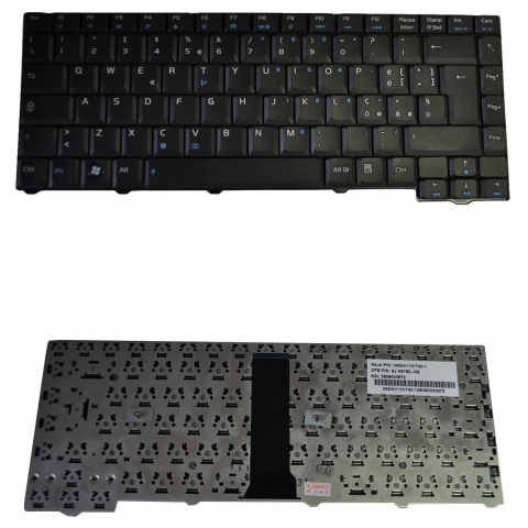Tastiera Notebook ASUS F2 F3 Z53 28pin BLACK