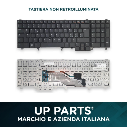 Tastiera notebook DELL E6520, E5520, E6530,