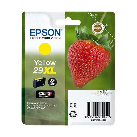 Cartuccia Originale EPSON T2994XL YELLOW,