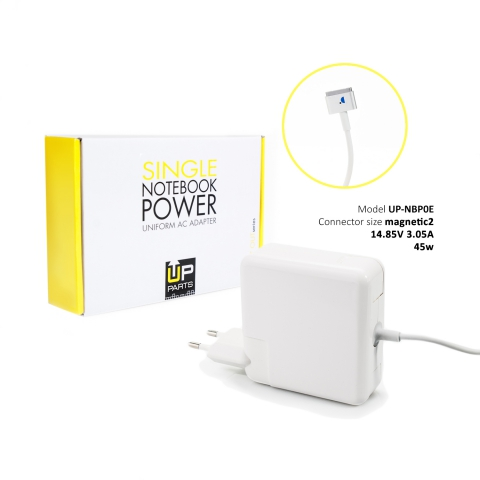 85 W AC Adapter Comp Apple MagSafe2 Type