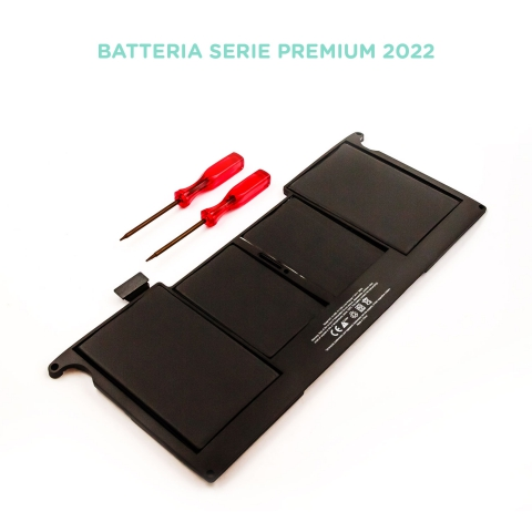 Batteria compatibile APPLE A1406 for MacBook Air A1370, Li-Polymer, 7,6V, 5200mAh, 39,5Wh