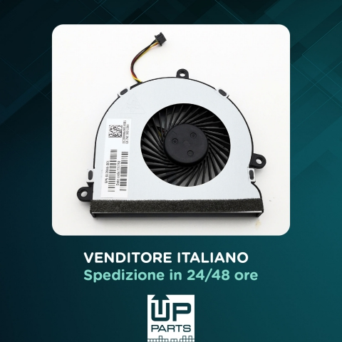 UP PARTS UP-FNH15 - Ventola notebook per HP  15-AC 4 Pin