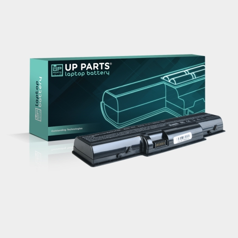 UP PARTS® UP-C-R4520 Batteria ACER Aspire 4310 series, Li-ion, 11,1V, 4400mAh, 48,8Wh, black - Serie Premium