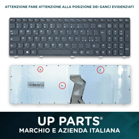 Tastiera notebook LENOVO 25210893, 25210923, MP-12P8,